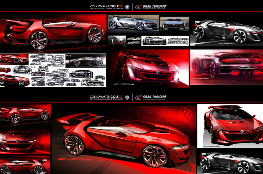 Volkswagen previews new 496bhp GTI Roadster Concept