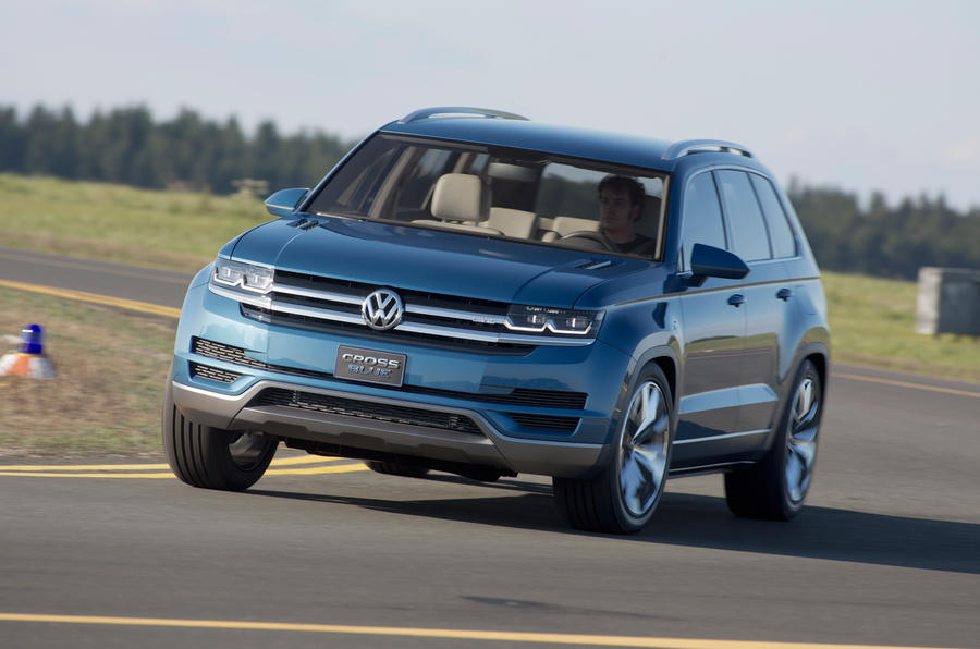 Volkswagen CrossBlue concept first drive review