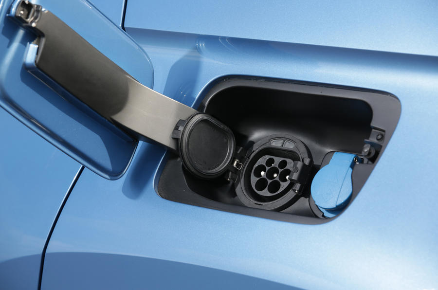 Volkswagen CrossBlue concept charging point