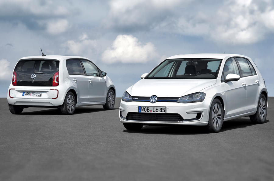 Volkswagen e-Golf and e-Up unveiled