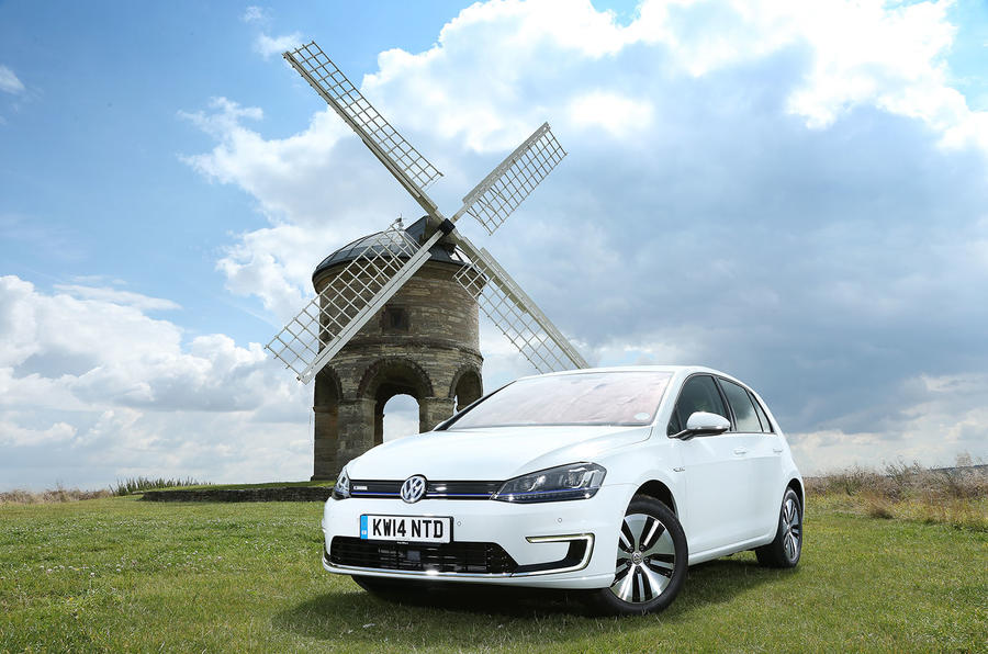 4 star Volkswagen e-Golf