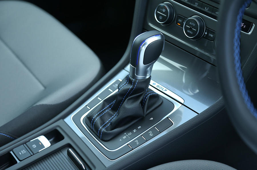 Volkswagen e-Golf DSG gearbox