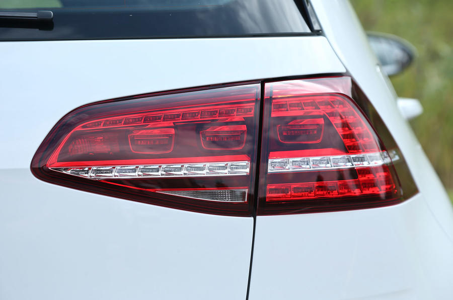 Volkswagen e-Golf rear lights