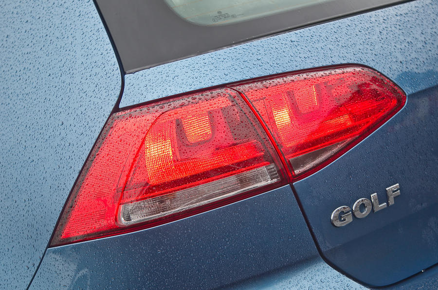 Volkswagen Golf rear lights