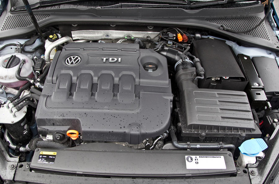 2.0-litre TDI Volkswagen Golf engine