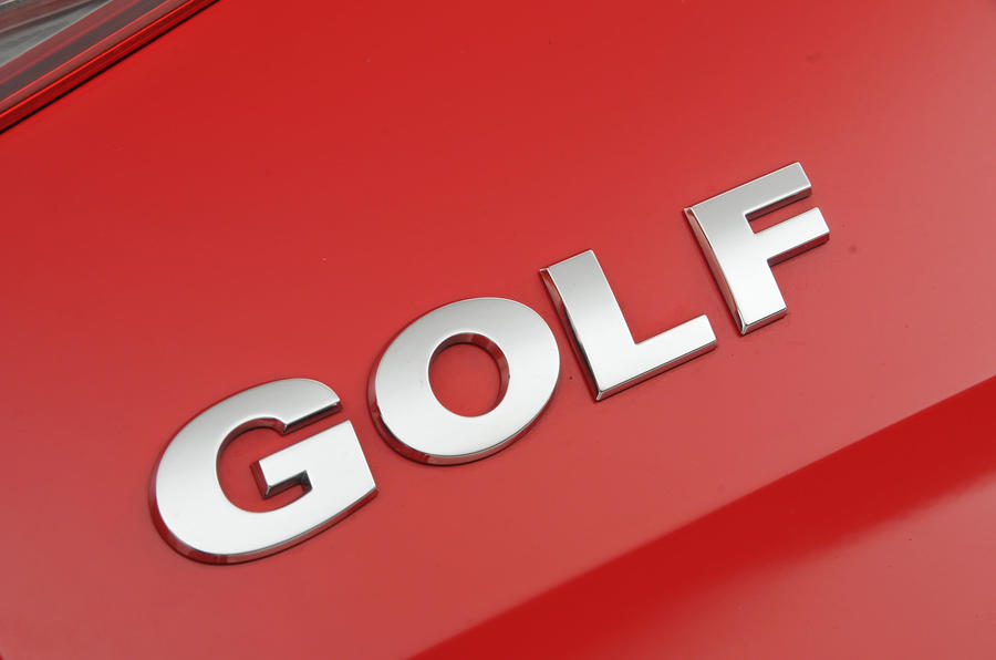 Volkswagen Golf badging