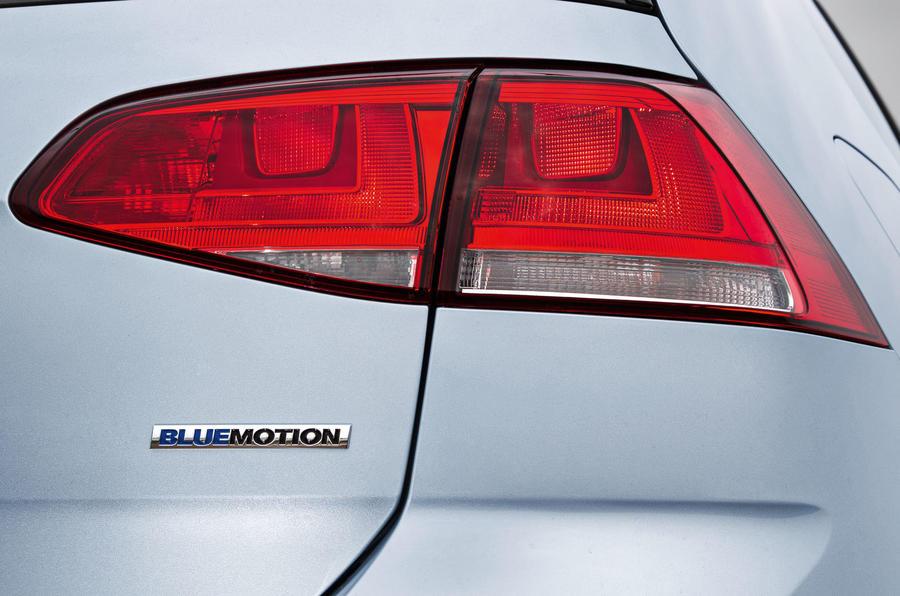 Volkswagen Golf Bluemotion tailight