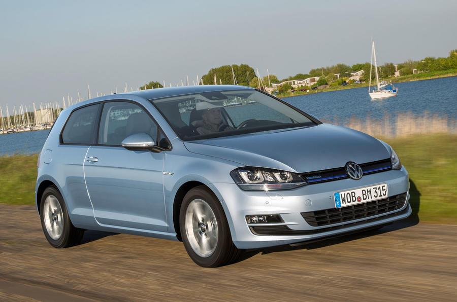 4 star Volkswagen Golf Bluemotion