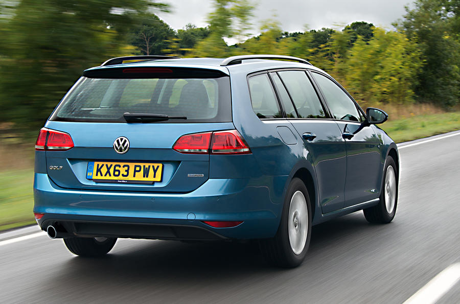 Volkswagen Golf Bluemotion estate first drive review