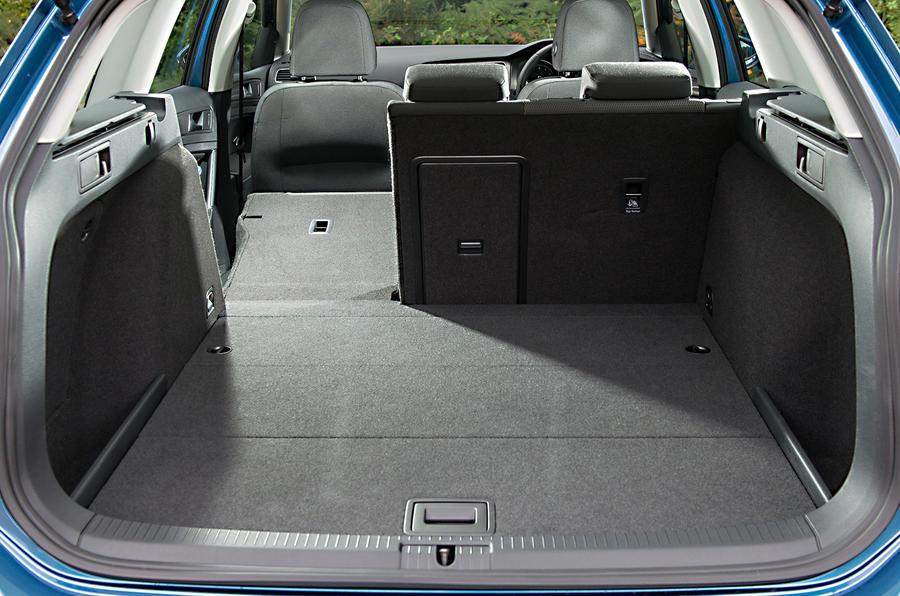 Volkswagen Golf Bluemotion estate first drive review