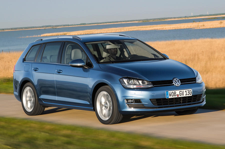 Volkswagen Golf Estate 2 0 Tdi Se 150 First Drive Review