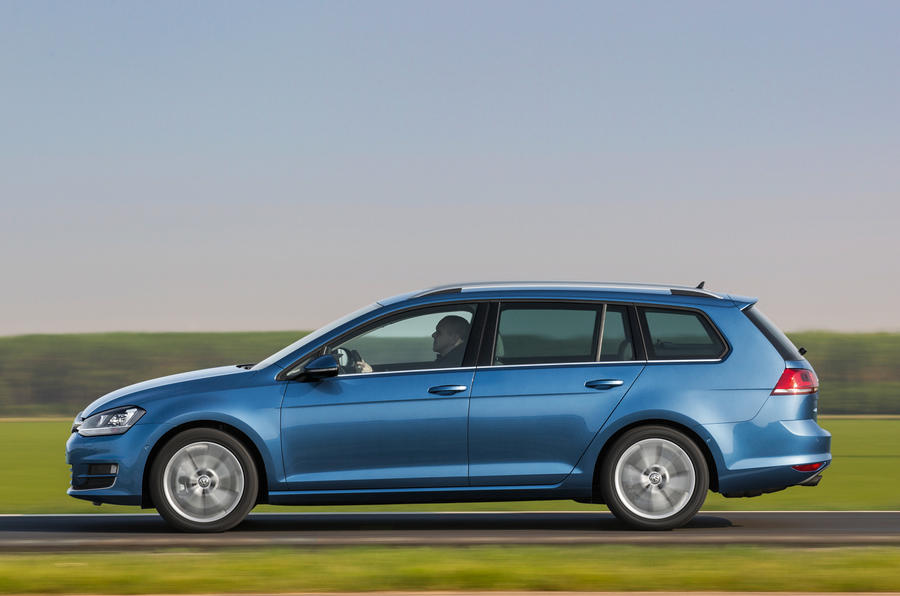 Mk7 Volkswagen Golf estate 2.0 TDI SE 150 first drive review