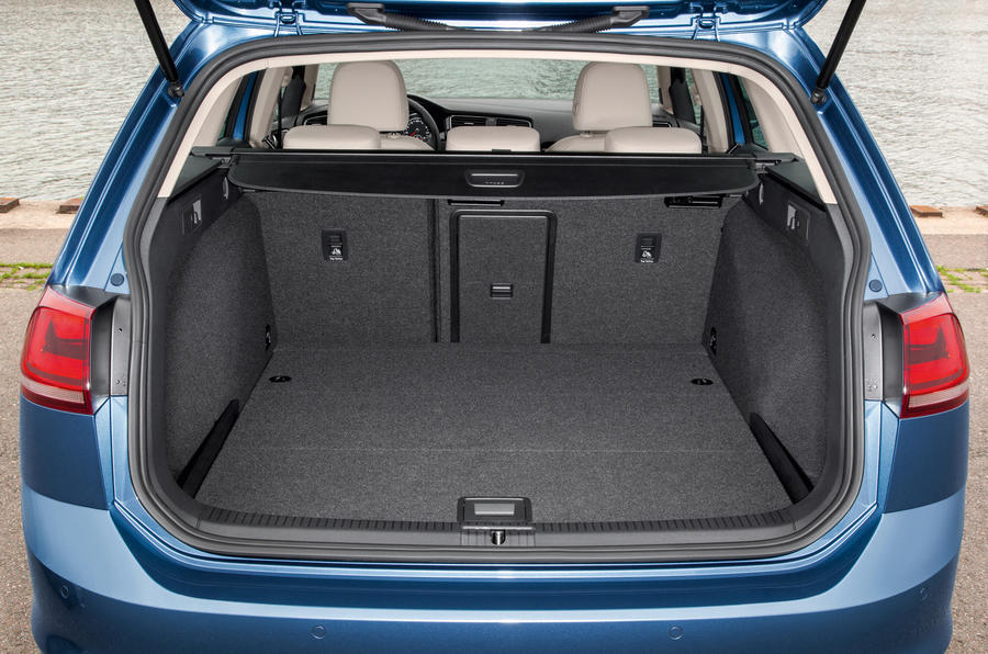 Volkswagen Golf estate boot space