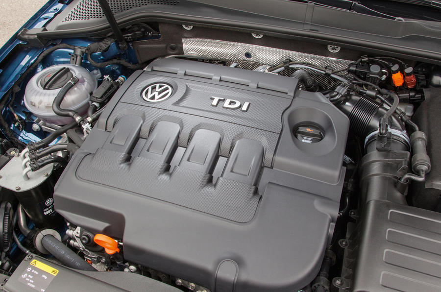 2.0-litre Volkswagen Golf estate diesel engine
