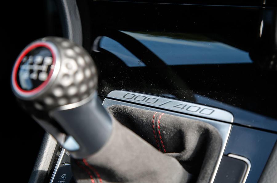 Volkswagen Golf GTI Clubsport S plaque