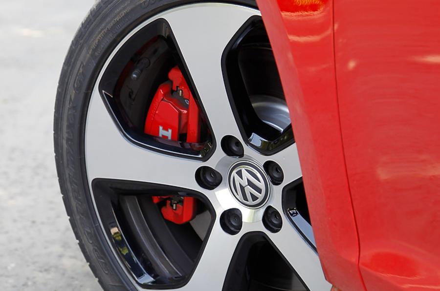 19in Volkswagen Golf GTI alloys