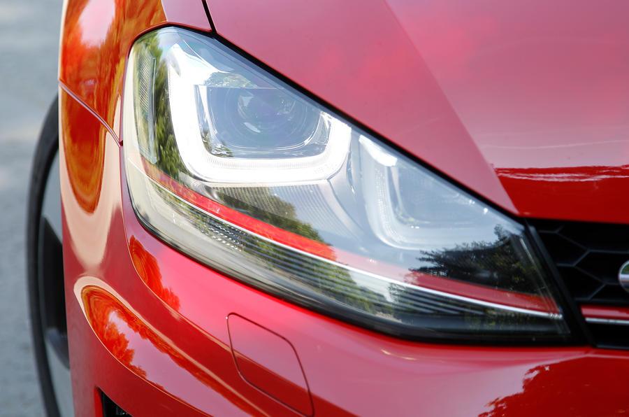 Volkswagen Golf GTI headlight