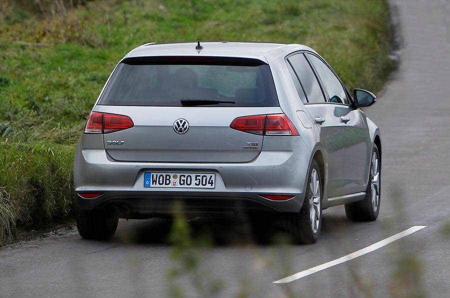 Volkswagen Golf rear