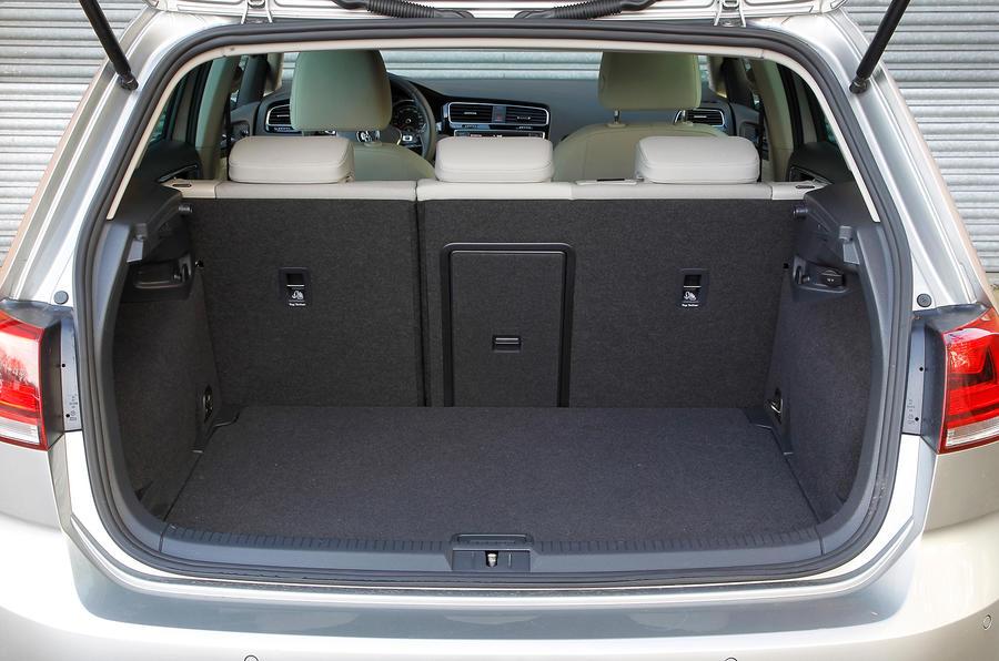 Volkswagen Gold boot space