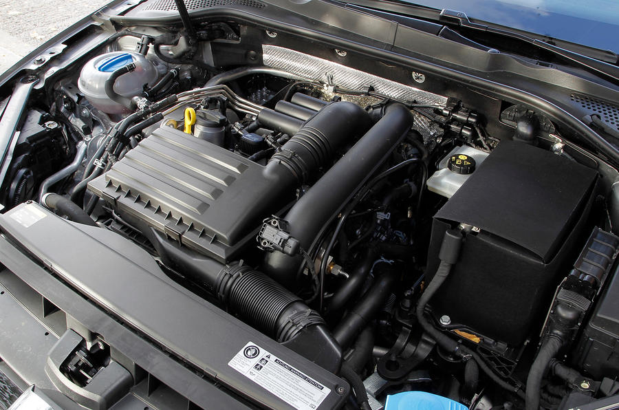 1.4-litre TSI Volkswagen Golf engine
