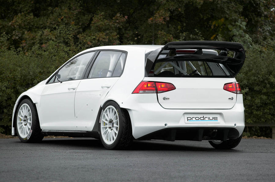 New Prodrive-built Volkswagen Golf rally car revealed