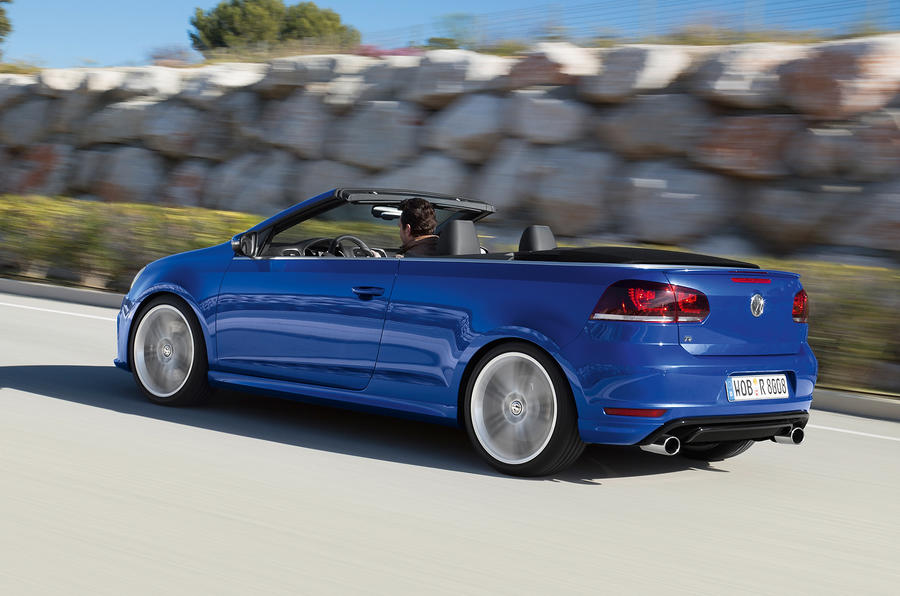 Volkswagen Golf R Cabriolet rear