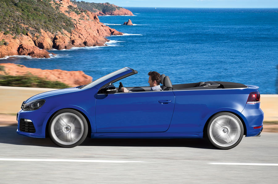 Volkswagen Golf R Cabriolet side profile