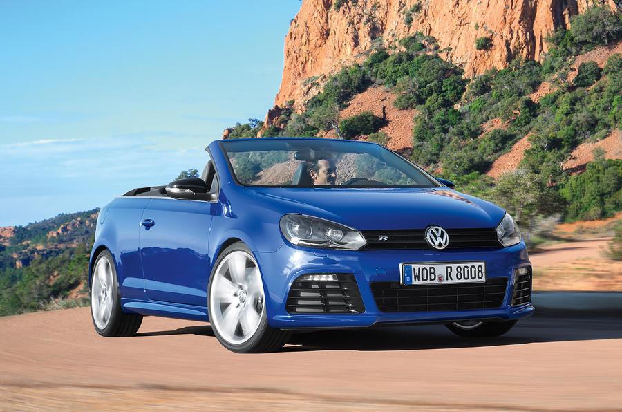 £38,770 Volkswagen Golf R Cabriolet