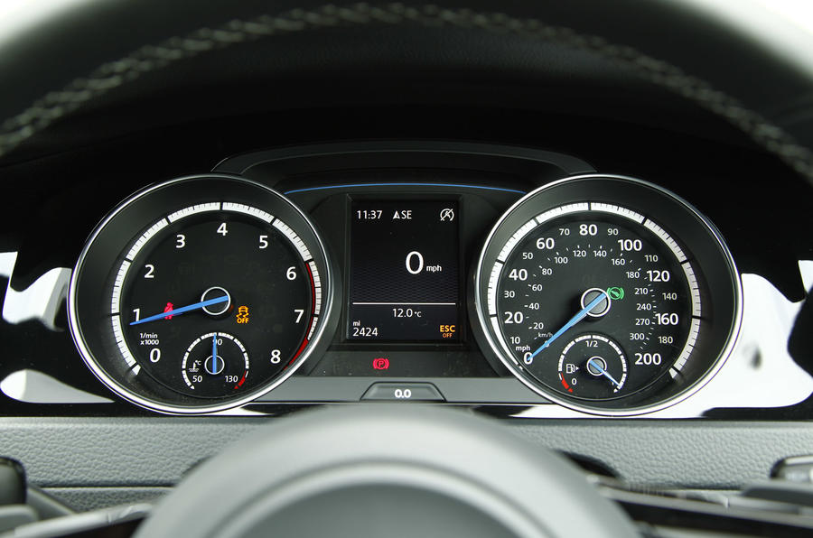 Toyota Tacoma Used Denver instrument binnacle, even with 200mph speedo in the Volkswagen Golf R ...