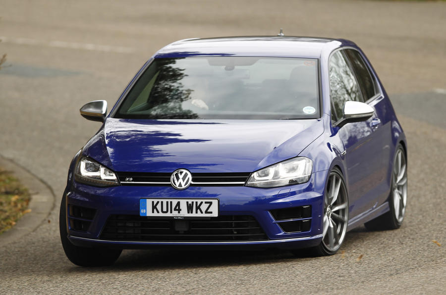The Volkswagen Golf R maintains its ability to be a nice handling car