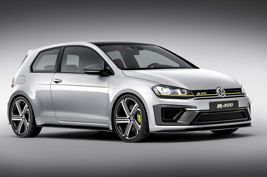 Volkswagen reveals Golf R400 mega-hatch