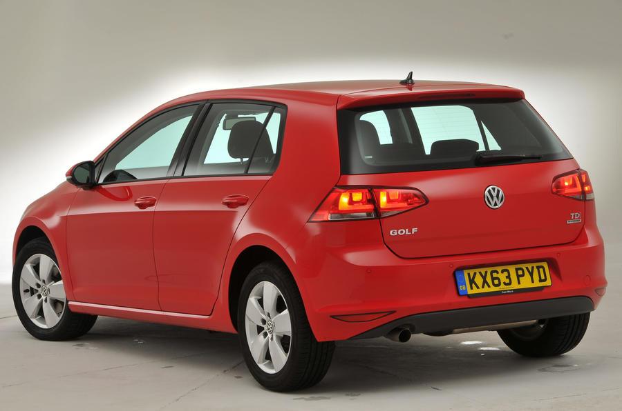 Volkswagen Golf rear quarter