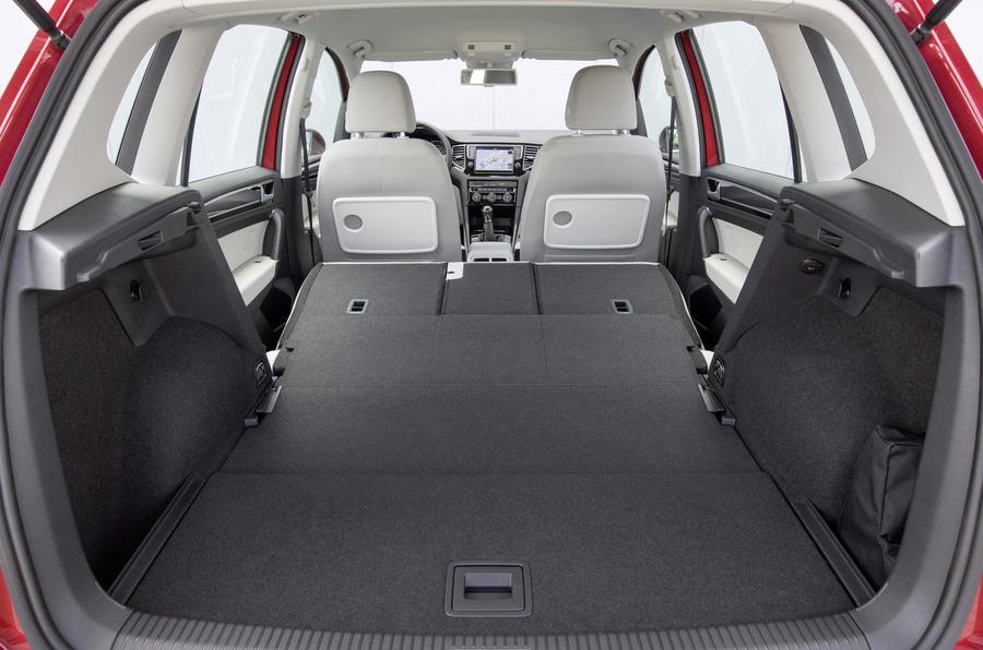 Volkswagen Golf SV seat flexibility