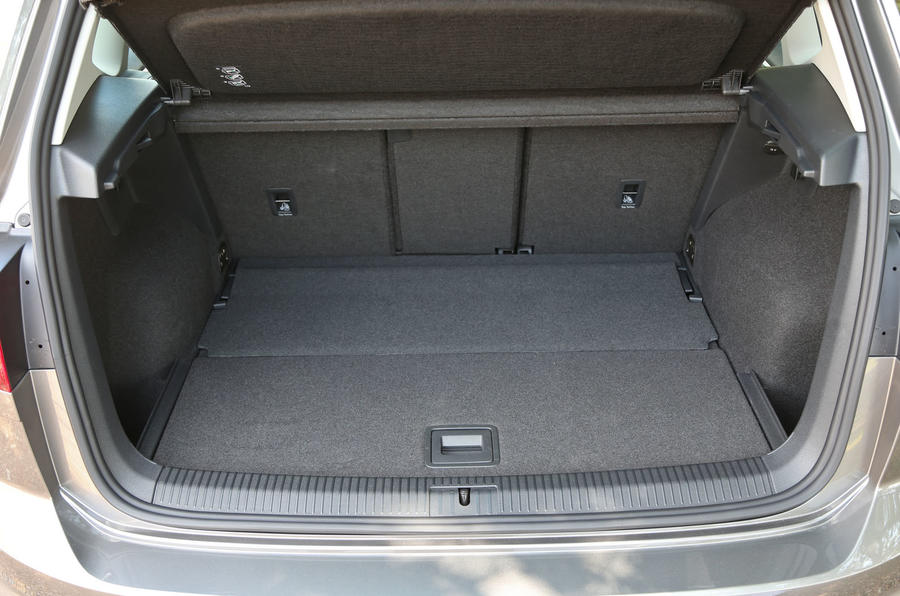 Volkswagen Golf SV boot space