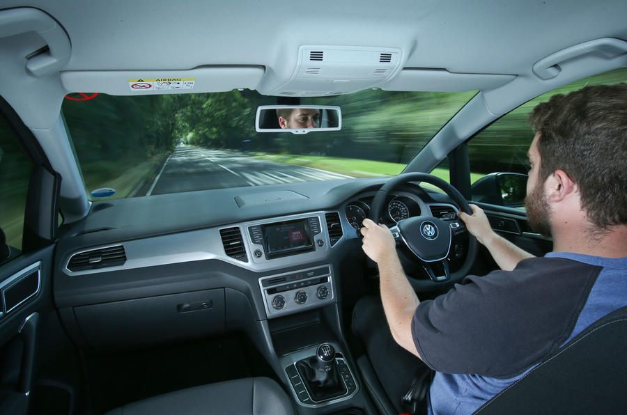 Driving the Volkswagen Golf SV
