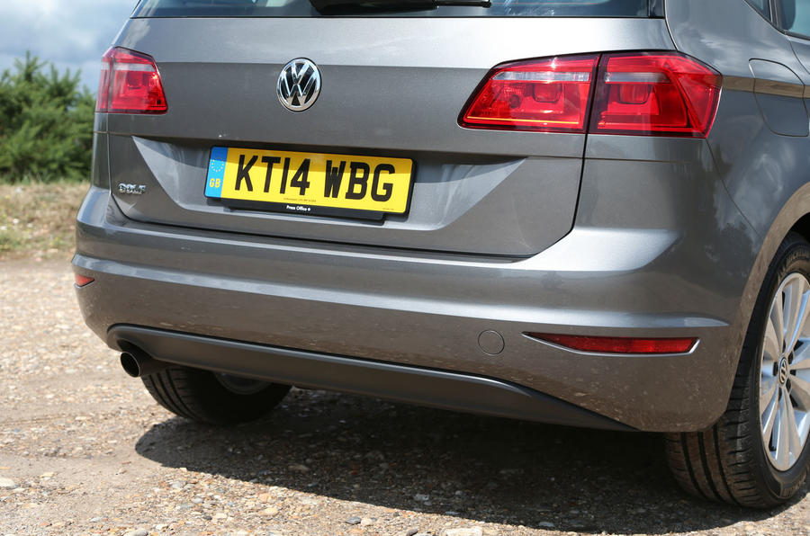 Volkswagen Golf SV rear end