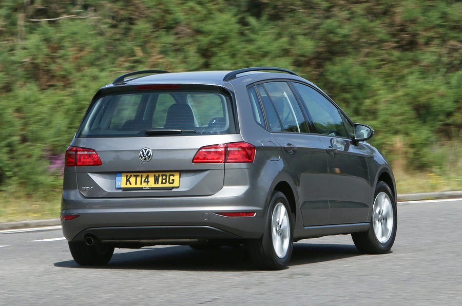 Volkswagen Golf SV rear