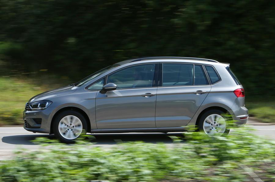 Volkswagen Golf SV side profile