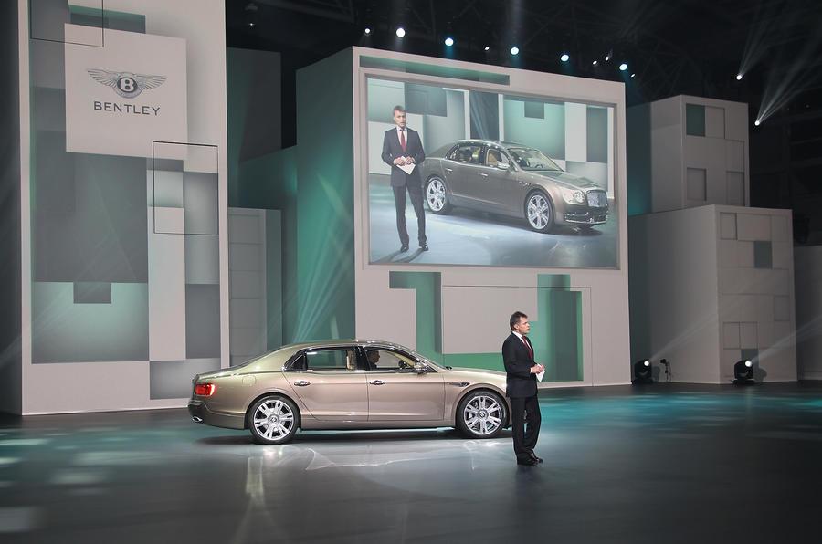 Bentley Flying Spur: Shanghai motor show 2013