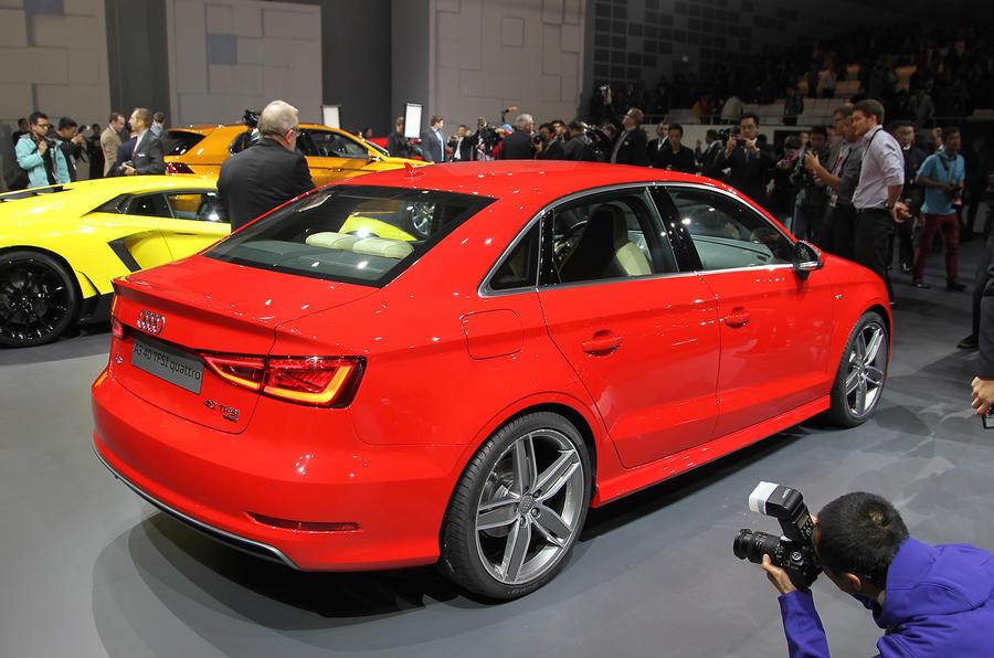 Audi A3 saloon: Shanghai motor show