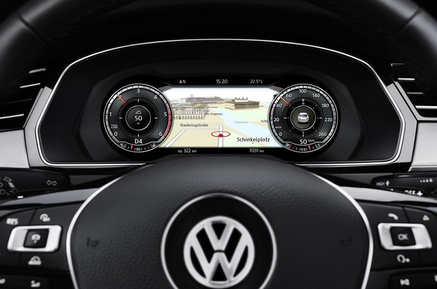 VW Passat instrument cluster