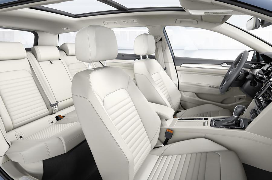 VW Passat front seats