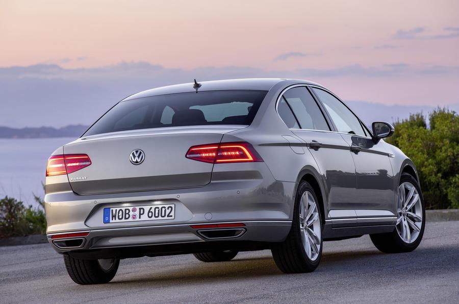 VW Passat rear