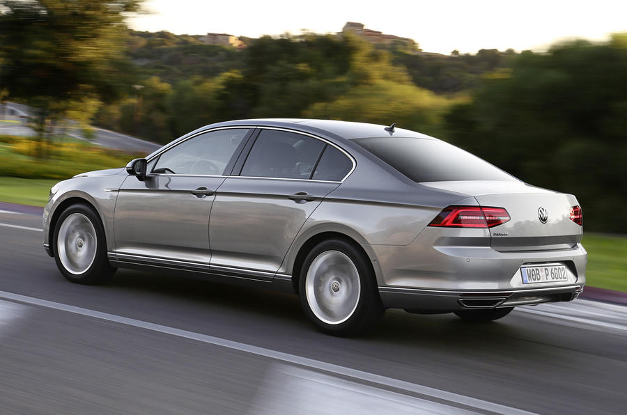 VW Passat side profile