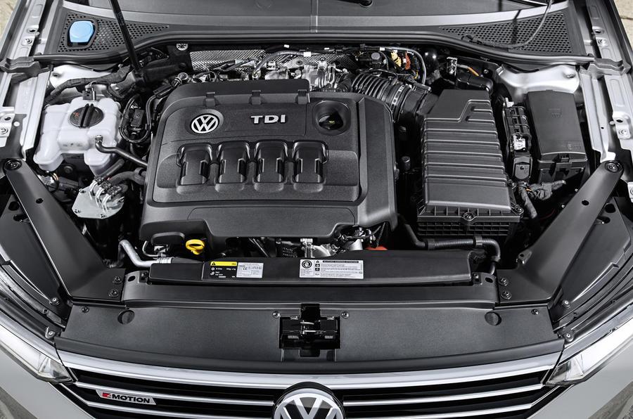 2.0-litre VW Passat diesel engine