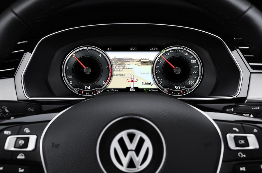Volkswagen Passat estate instrument cluster