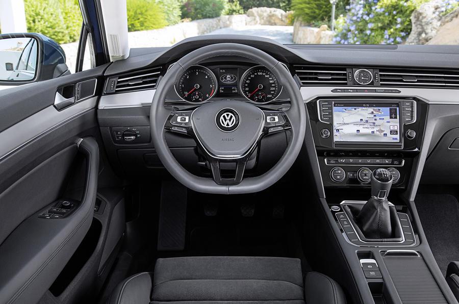 Volkswagen Passat estate dashboard