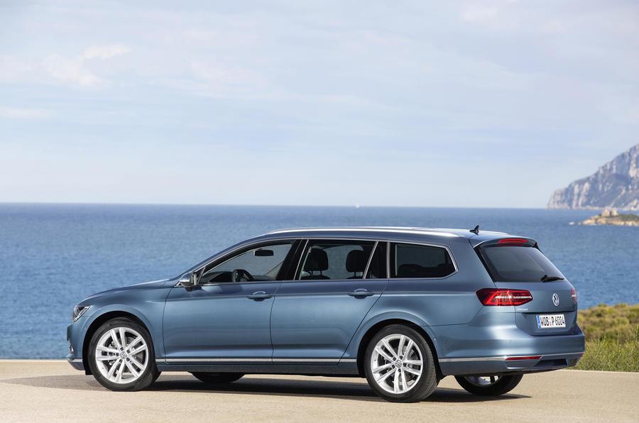 Volkswagen Passat estate rear quarter