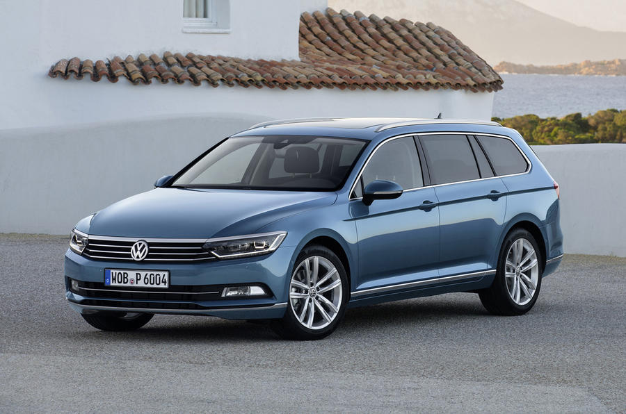 volkswagen passat estate 2 0 tdi bluemotion technology first drive. Black Bedroom Furniture Sets. Home Design Ideas