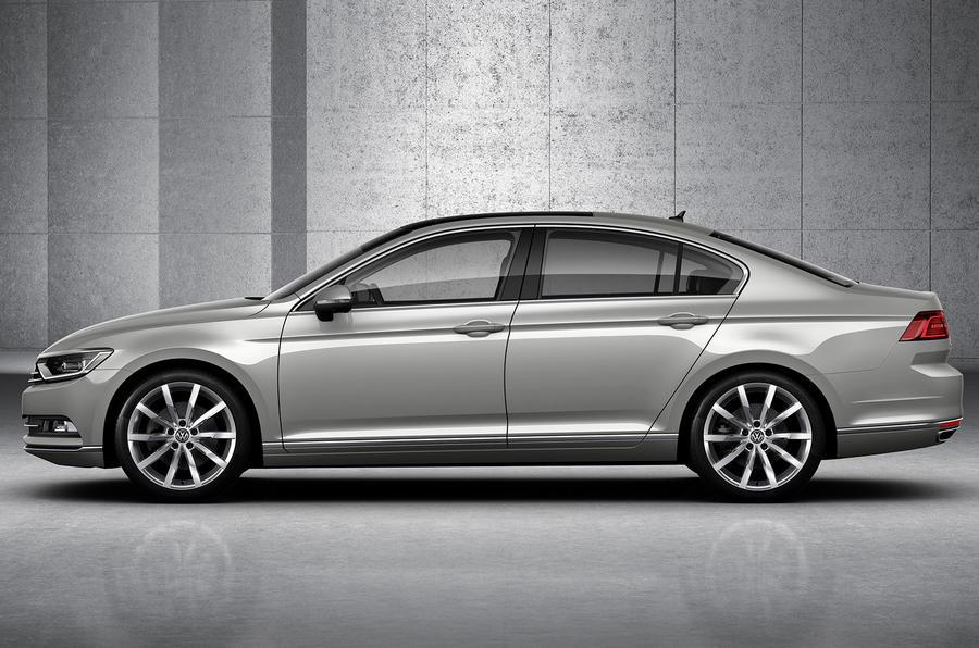 New Volkswagen Passat goes upmarket to fight BMW and Mercedes
